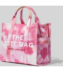 marc jacobs women's the tie dye small tote bag - pink multi