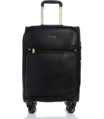 "guess fashion travel roxane 20"" carry-on spinner"