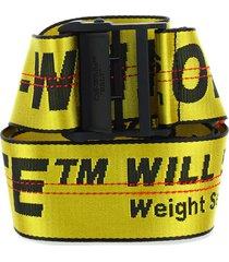 off-white off white luggage belt