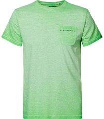 t-shirt limegroen