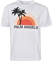 palm angels butterfly college t-shirt