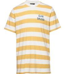 beach stripe twin t-shirts short-sleeved gul mads nørgaard