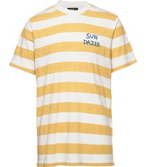 beach stripe twin t-shirts short-sleeved gul mads nørgaard