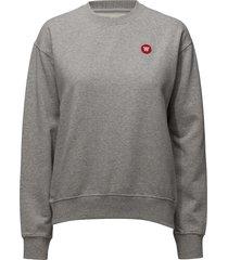 jess sweatshirt sweat-shirt tröja grå wood wood