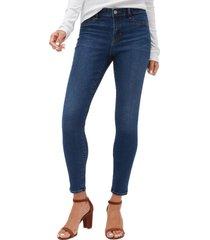 jeans legging dark indigo azul gap