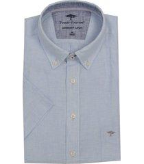 fynch-hatton linnen overhemd buttondown