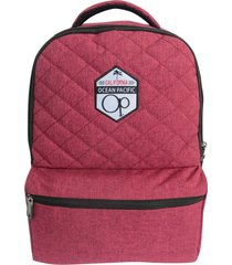 mochila de costas ocean pacific opcm800903 vermelho