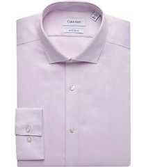 calvin klein wisteria geometric slim fit dress shirt