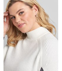 lane bryant women's double-oval drop earrings onesz gold tone
