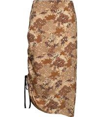 cisco knälång kjol brun by malene birger