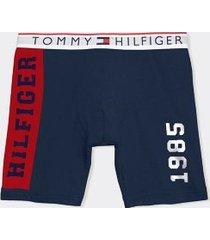 tommy hilfiger men's modern essentials boxer brief dark navy - xl