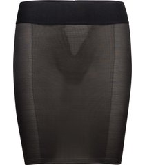 sheer touch forming skirt lingerie shapewear bottoms svart wolford