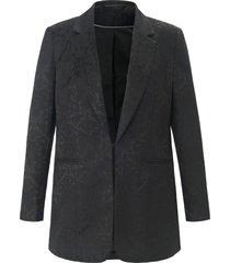 blazer met reverskraag van emilia lay zwart