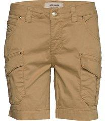 cheryl cargo shorts shorts flowy shorts/casual shorts beige mos mosh