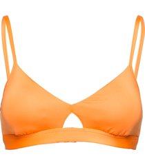 active hybrid bralette bikinitop orange seafolly