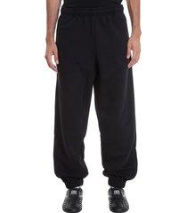 balenciaga pants in black cotton