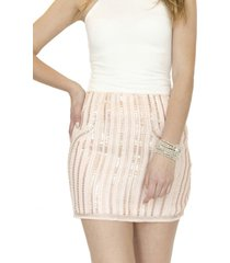 falda sole rosado racaventura