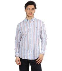 ml bd cotton striped shirt