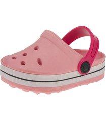 babuche infantil sandália feminina minipasso rosa