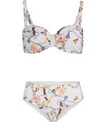bikini a balconcino con ferretto (set 2 pezzi) (grigio) - bpc selection