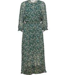 hayden dress knälång klänning grön inwear