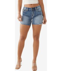 women's jayde big t cutoff shorts