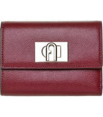 furla furla burgundy wallet