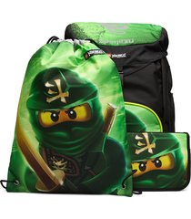 outbag deluxe set accessories bags backpacks groen lego bags