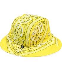 arizona love bandana bob bucket hat - yellow