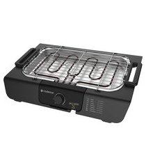 churrasqueira elétrica cadence grl810 grill menu 1800w preta 127v