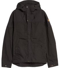 men's fjallraven men's skogso water resistant jacket, size x-large - grey