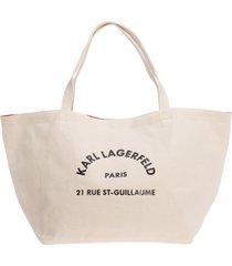 borsa donna a spalla shopping k/rue st guillaume