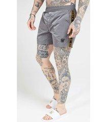 zwembroek siksilk crushed nylon tape shorts