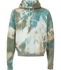 john elliott multicolour cotton hoodie