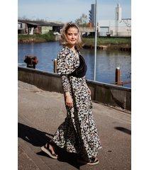 ambika jurk multicolor tawny