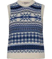 coleen knitwear vests-indoor blauw baum und pferdgarten