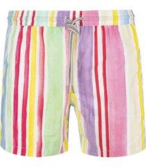 capri code pastel striped swimsuit