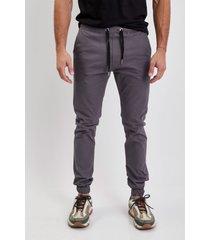 pantalón gris el genovés jogger