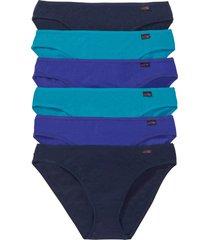 slip (pacco da 6) (blu) - bpc bonprix collection