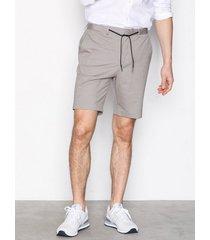selected homme shdtaperedair shorts shorts ljus brun