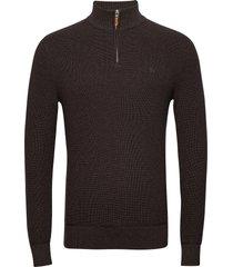 bernard half zip knitwear half zip jumpers brun morris