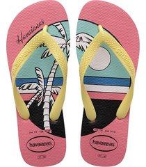 sandalias havaianas top vibes 4144520 femenino