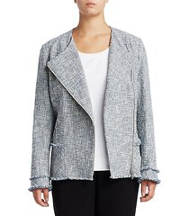 plus owen wide-lapel jacket