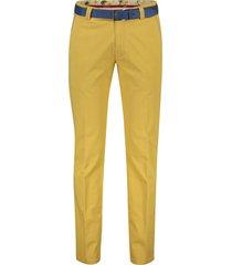 meyer pantalon new york mosterd geel