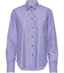 fila shirt långärmad skjorta blå britt sisseck