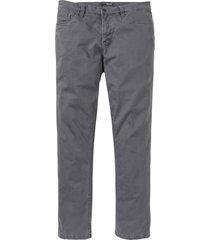 pantaloni termici in twill elasticizzato regular fit (grigio) - bpc selection