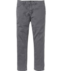 pantaloni termici in twill elasticizzato regular fit (grigio) - bpc selection