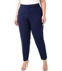 plus size women's liverpool kelsey ponte knit trousers