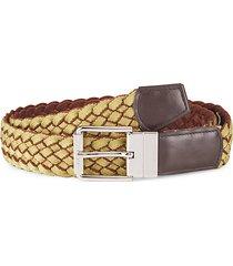 ripley braided leather belt