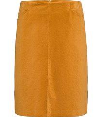 skirt short woven fa kort kjol gul gerry weber